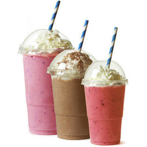 Milkshakes, Eiskaffee und Iced Drinks